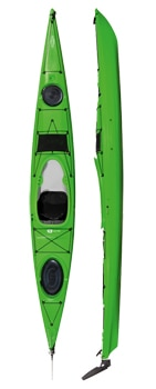 tahe fit 147 pe kayak