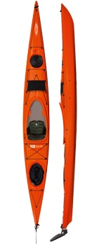 tahe fit 158 pe kayak