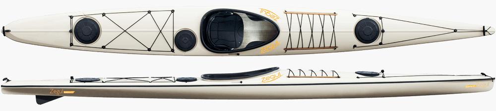 Zegul Baidarka Skeg Kayak