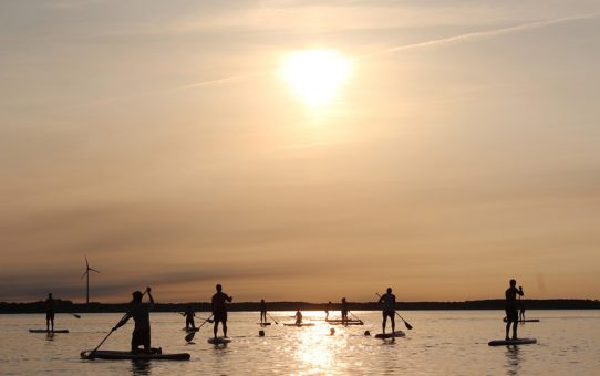 Stand Up Paddle Boarding is Hot Hot Hot!
