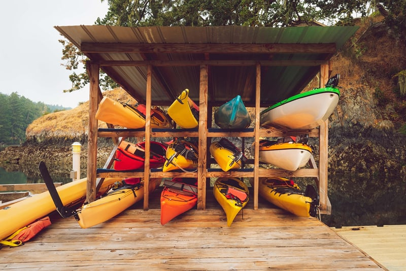 Kayak Garage Storage