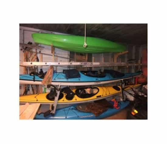 Storing A Kayak