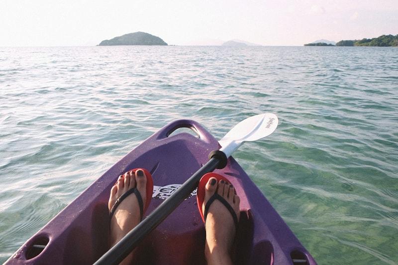 Adventure of Kayaking